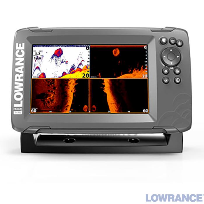 Ехолот / картплоттер Lowrance HOOK2 7x TripleShot