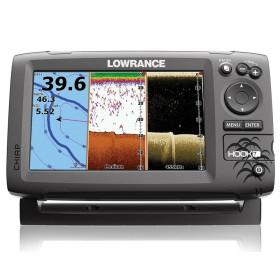 GPS-навигатор с датчиком эхолота Lowrance HOOK-7