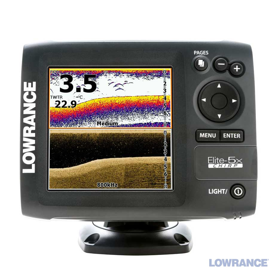 Lowrance Elite-5x CHIRP