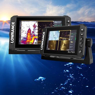 Потужні картплоттери-ехолоти Elite FS™, що надають доступ до усіх риболовних інструментів Lowrance