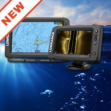 Новые, многофункциональные эхолоты / картплоттеры Elite Ti2 c Active Imaging