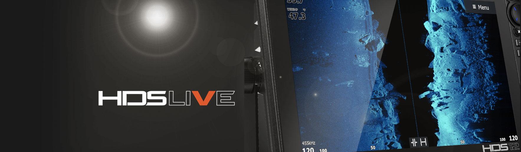 Інноваційні ехолоти HDS Live Active Imaging у фірмовому магазині Lowrance