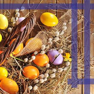 Фірмовий магазин лоуренс вітає зі святом Великодня
