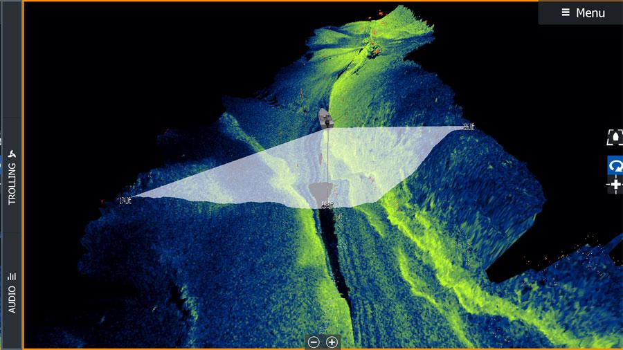 Оновлення ПО від Lowrance. Висококонтрастні кольори StructureScan 3D
