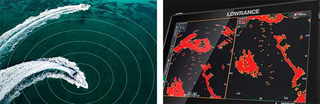 Морской радар Lowrance Halo24