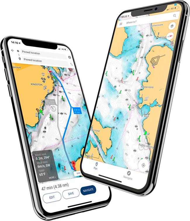 Lowrance® официально представила мобильное приложение Lowrance: Fishing & Navigation, которое загружается из Google Play Market и Apple Store